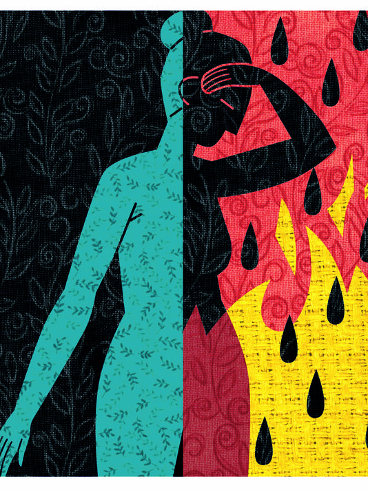 Study: Hot flashes usually persist for years